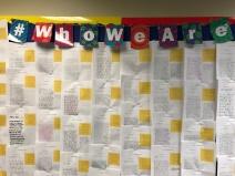whoweare bulletin board